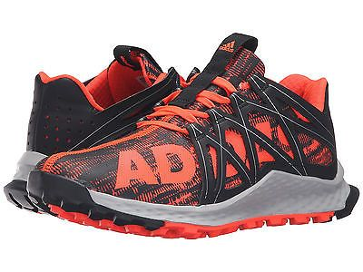 Men\u0027s Adidas Vigor Bounce Red Black Running Athletic Trail Shoe AQ7508 Sz  9.5-15