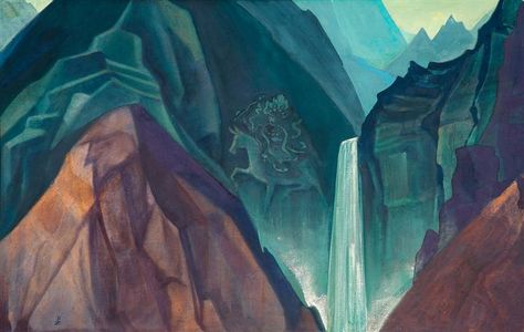 """The Messenger By Svetoslav Roerich Fine art print NEW 20/"""" x 28/"""""""