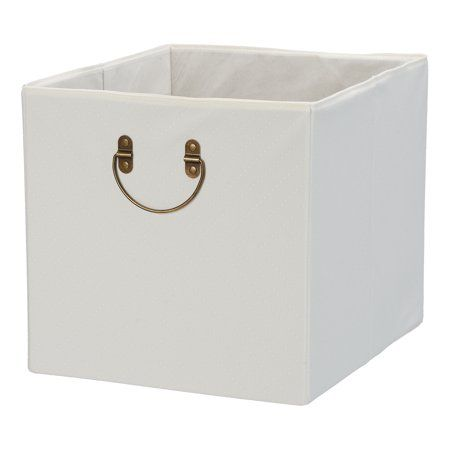 Better Homes Gardens Textured Velveteen Cube Storage Bin Multiple Colors 12 75 X 12 75 Walmart Com Cube Storage Bins Cube Storage Storage Bins