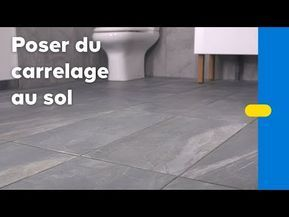 Comment Poser Du Carrelage Sol Castorama Youtube En 2020