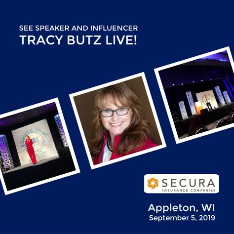 I M Excited To Again Speak At Secura Insurance In Appleton Wi On