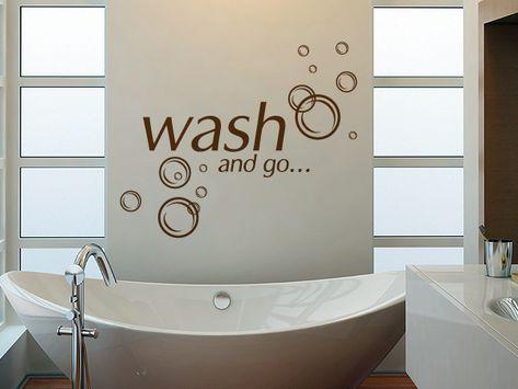 Wandtattoo Wash And Go Wandtattoo Wandtatoos Wandaufkleber