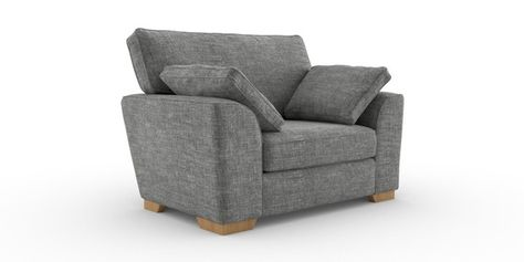 Buy Stamford Tailored Comfort Snuggle Seat 2 Seats Boucle Weave Dark Grey Large Square Angle Light From The Next Uk Snuggle Seat Large Sofa Sofa