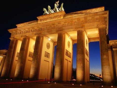 Berlin Germany Brandenburg Gate Berlin Germany Germany