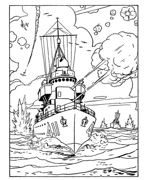 Armed Forces Day Coloring Page Us Navy Cruiser Coloring Pages Military Drawings Airplane Coloring Pages