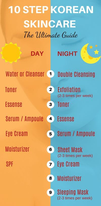 The Ultimate 10 Step Korean Skincare Routine Guide That Will Bring You Beautiful Glow Korean 10 Step Skin Care Skin Care Routine Steps Beauty Skin Care Routine