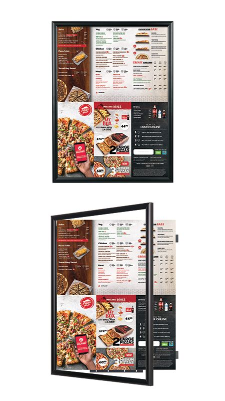 Our Popular Wide Face Black Metal Poster Swingframe Comes In Over 25 Standard Sizes Including Extra Large Poster Frames Shadow Box Display Case Custom Displays