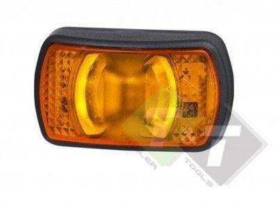 Zijmarkeringslamp Contourlamp Oranje 12 Tot 24 Volt Ledlamp Led Aanhangwagens Gloeilampen