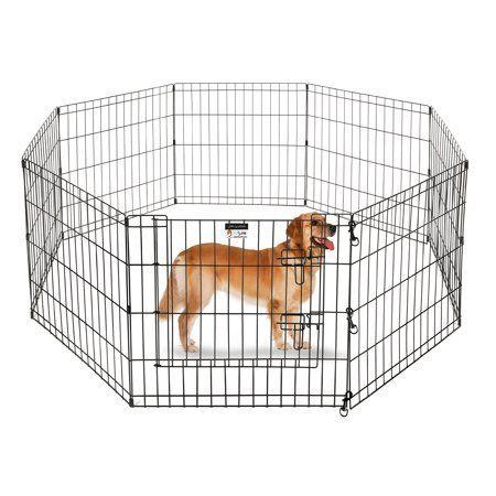 Pet Trex Playpen For Dogs 24 H Walmart Com 2305 Pet Trex 24 Inch Playpen For Dogs Eight 24 Inch Wide X 24 Inch High Panels 2020 Dog Playpen Pet Kennels