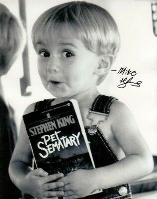 Details about MIKO HUGHES.. Pet Sematary's Lil Cutie - SIGNED