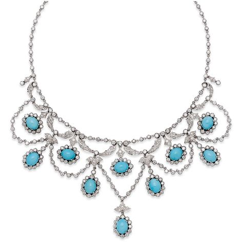 Books /& Arts Museum /_ Persian Fashion Jewelry Turquoise Style # Box 09 003 Crystal Earrings /& Necklace Jewelry Set for Women