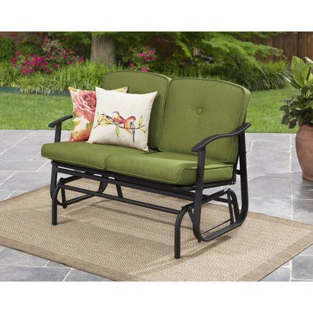 Patio Garden Outdoor Loveseat Outdoor Glider Glider Cushions