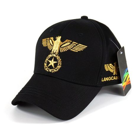 29f0f35d4a0687 High-quality Men Women 100% Cotton Breathable Cool Eagle Embroidery Baseball  Cap Outdoor Sports Sun Hat - NewChic Mobile