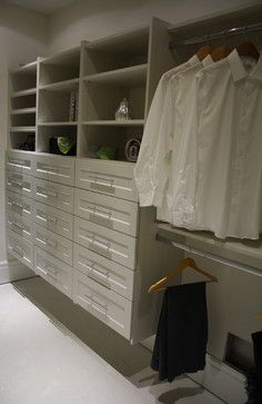 Diva White   Contemporary   Closet   Vancouver   STOR X Vancouver | Custom  Closets | Pinterest | Custom Closets, Contemporary And Organizations