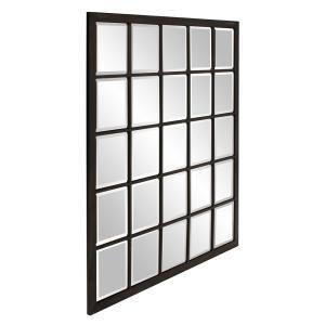 Howard Elliott Superior Oiled Bronze 34 X 38 Wall Mirror 6m051 Lamps Plus Window Pane Mirror Black Wall Mirror Mirror Wall