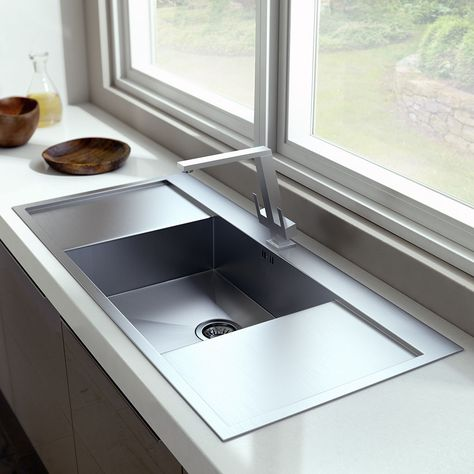 Large Kitchen Sink Double Drainer   Large kitchen sinks ...