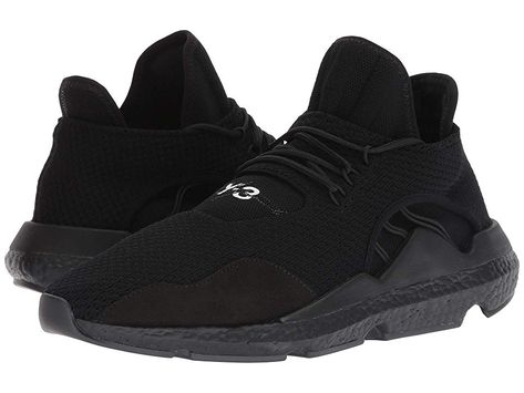 b441c158e9e8 adidas Y-3 by Yohji Yamamoto Saikou (Black Y-3 Black Y-3 Black Y-3) Shoes.  Delight in the dramatic difference. Stand proud in the unique artistic  design and ...