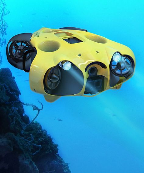 A Submarine Drone That Freely Captures Your Underwater Journey In
