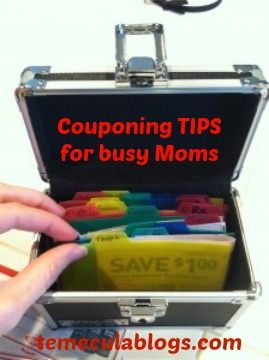 Couponing TIPS for Busy Moms!
