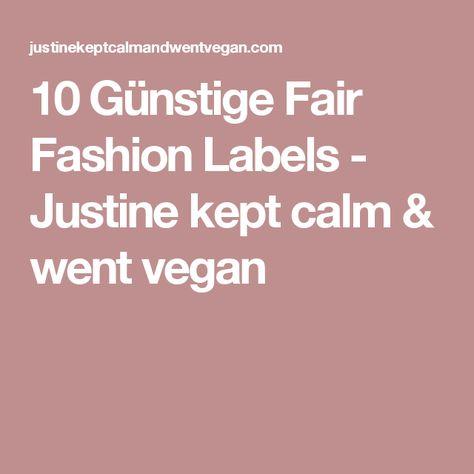 günstige fair fashion labels (mit bildern)   kleidung für