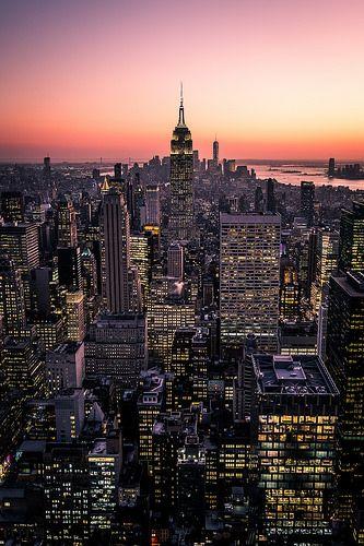 Manhattan At Sunset New York Cityscape Photography New York Pictures New York Wallpaper New York Cityscape