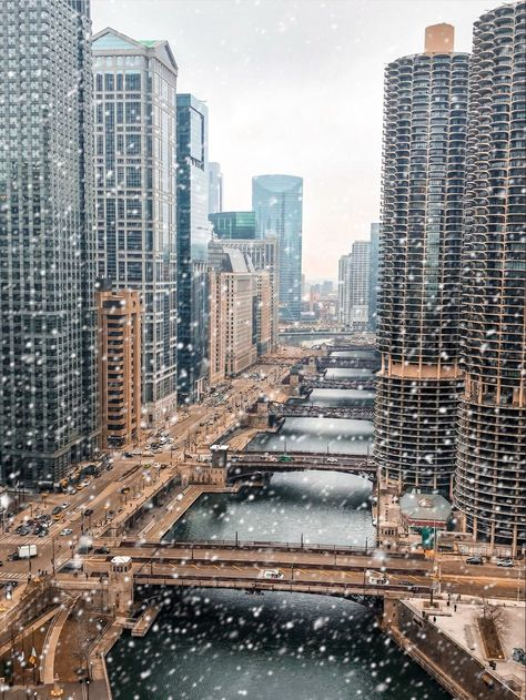 5 Generations of Buildings - Chicago IL Snow Photography, Chicago Photography, Travel Photography, Urban Photography, Photography Poses, London House Chicago, Chicago City, Chicago Snow, Chicago Winter