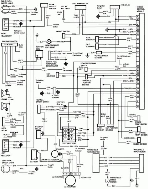16 Ford E 150 Electrical Wiring Diagram 1995 Ford F150 F150 Electrical Wiring Diagram