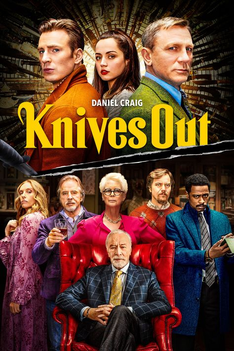 In All the Write Moves: 'Knives Out,' writer Peter Hanson says that director Rian Johnson either deliberately or intuitively (if not both) crafted an image that combines myriad elements associated with the whodunnit genre. Learn more now about his thoughts on this popular murder myster now!