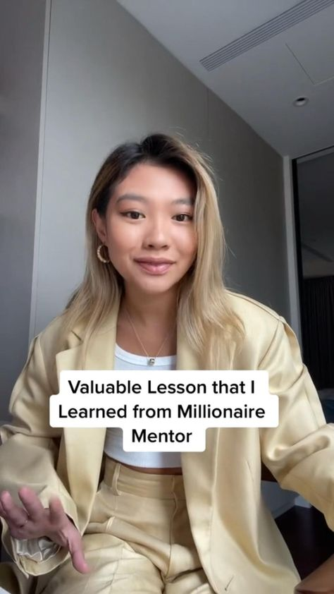 Lesson I Learned from Millionaire Mentor #mentorship