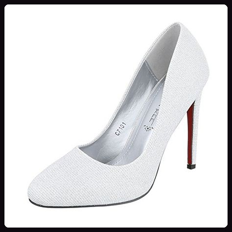 Heels Schuhe Heel Plateau Stilettoabsatz High Pfennig Damen YHfCxwYq4