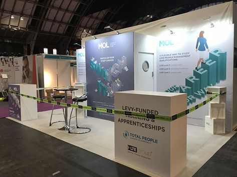 Exhibition Stand Design And Build Manchester : Another local build at the manchester central this time for mol at