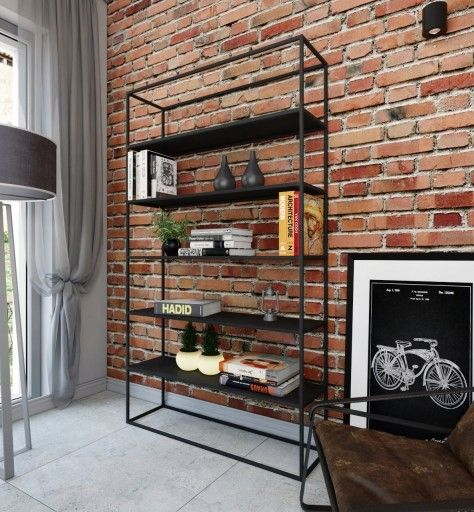 Regal Loft Nowoczesny Design Polki Naturalny Dab 2350 Zl Allegro Pl Raty 0 Darmowa Dostawa Ze Smart Torun Stan Nowy Id Of Home Home Decor Decor