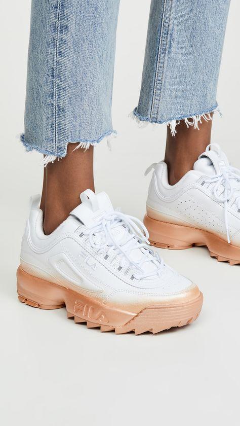 Disruptor II Brights Fade Sneakers | Fila disruptors