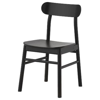 RÖNNINGE Chair, birch IKEA | Chaise noire, Ikea, Chaise de