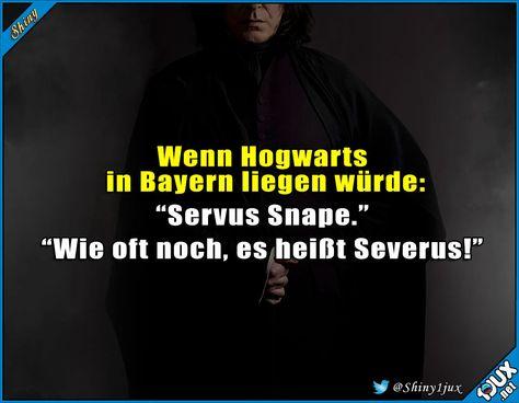 Snape hätte da eine harte Zeit #Snape #Bayern #Potterhead #Witz #Witze #lustigeBilder #Humor