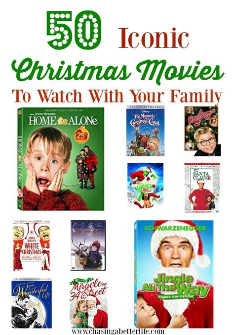 50 Iconic Christmas Movies To Watch With Your Family Christmas Movies Movies To Watch Movies