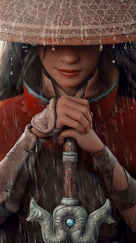 Raya and the last dragon Lockscreen