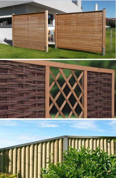 Inspirational Sichtschutz f r Garten und Balkon Haus u Garten Pinterest Green garden Garden ideas and Gardens