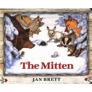 Jan Brett creates a dramatic picture book with the story of Nicki, a young boy who has lost a mitten in the snow and the animals who try to make a home of it. Jan Brett, The Snow, The Animals, Chut Je Lis, Author Studies, Unit Studies, Lectures, Christmas Books, Christmas 2017