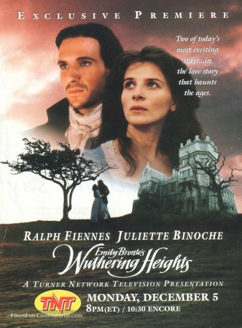 Wuthering Heights Movie Poster Filmes Shows