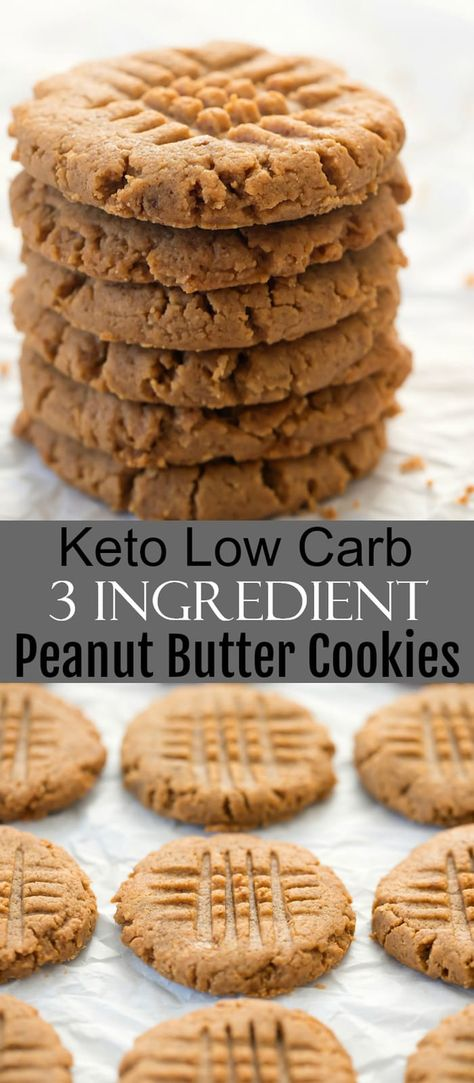 Low Carb Desserts, Low Carb Recipes, Dessert Recipes, Protein Recipes, Health Desserts, Gluten Free Recipes, Vegan Recipes, Best Oatmeal Cookies, Soft Peanut Butter Cookies