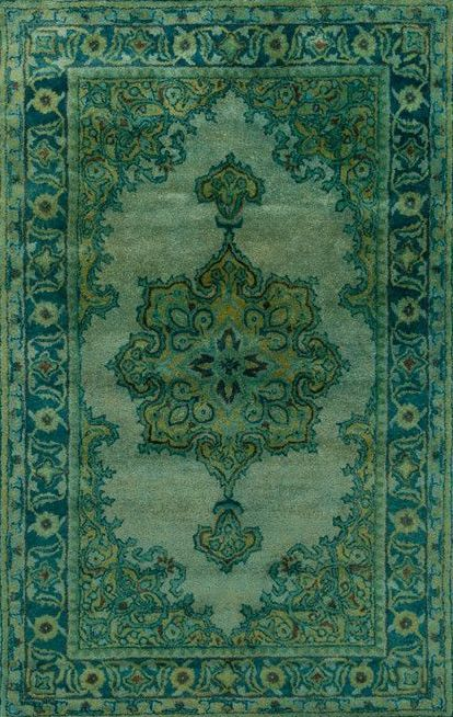Mykonos Rug In Green This Would Spruce Up The Boring Carpet In