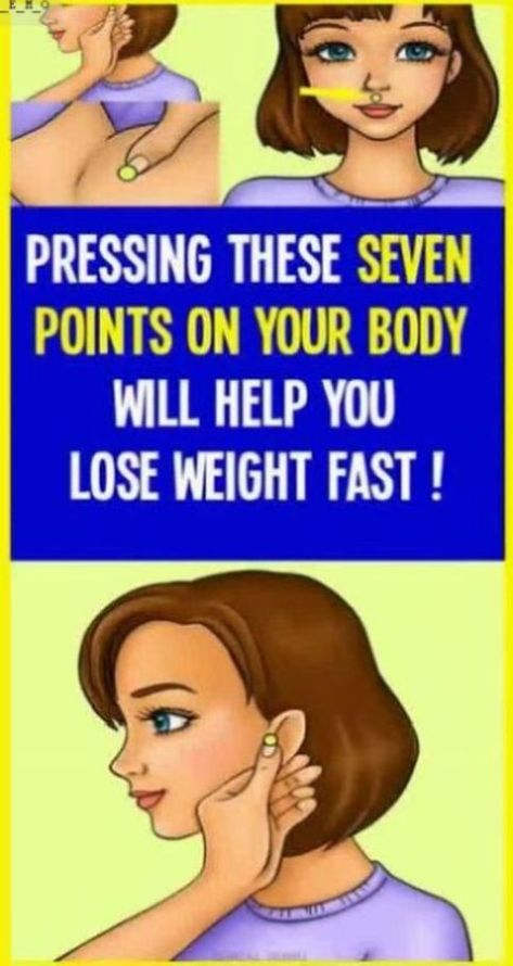 If you apply pressure on this place of your body � you�ll loose weight � guaranteed!