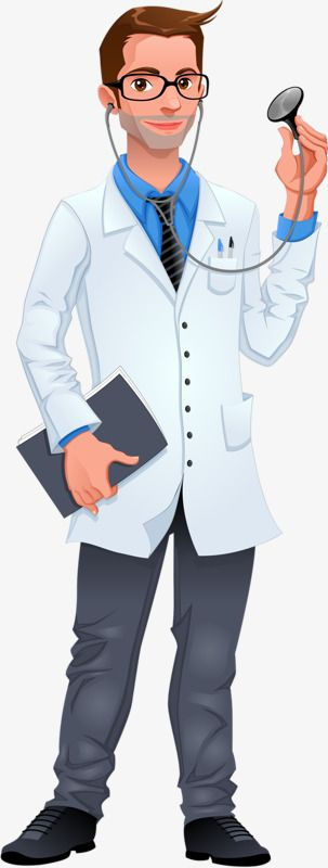 Handsome Doctor Png And Clipart Doctor Healthcare Professionals Human Drawing