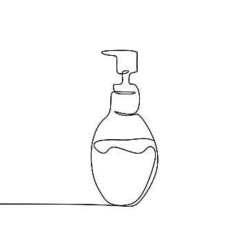 زجاجة عطر بخاخ العطور والملابس المستمر خط الرسم عطر المرسومة المتجه توضيح Png والمتجهات للتحميل مجانا Bottle Drawing Hand Art Drawing Line Art Drawings