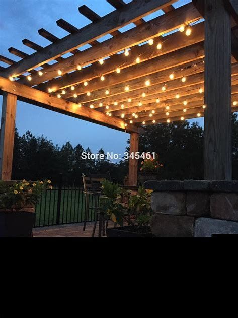 Pin On String Lights Ideas, Outdoor Hanging Lights For Pergola