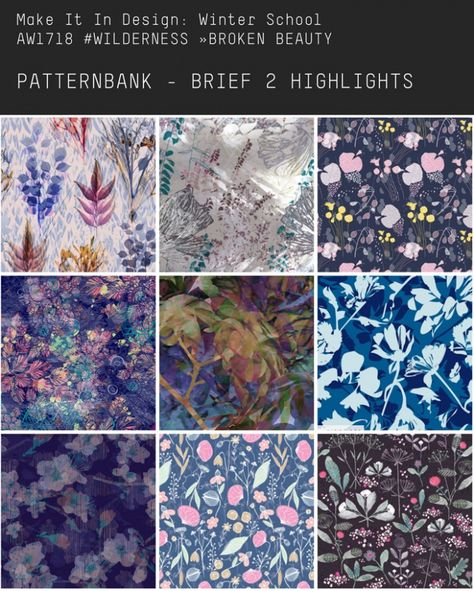 'Make It In Design' Winter School 2017 - Pattern Highlights | Patternbank