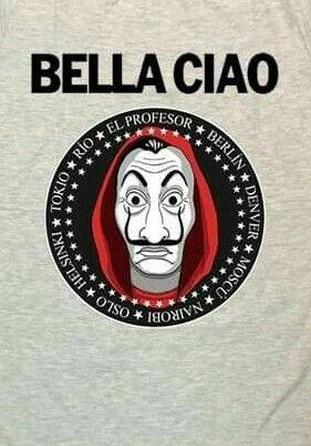 La Casa Del Papel Bella Ciao Photography Backdrop Samples Diy Wallpaper Samples