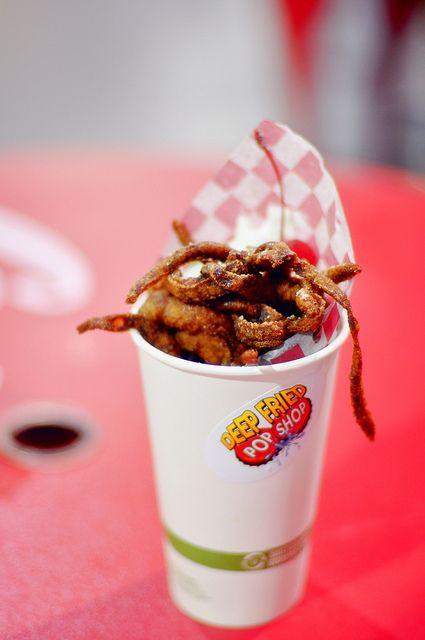 County Fairs An Excuse To Deep Fry Anything Fair Food Recipes Fried Kool Aid Deep Fried