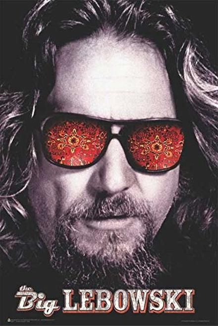 The Big Lebowski THE DUDE Film Poster GICLEE CANVAS Wall Art Picture